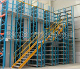 CE-Zulassung Multi-Floor Lager High Density Kopf Mezzanine-Rack