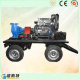 Водяная помпа двигателя дизеля трейлера передвижная (35HP45HP50HP) для нечистоты