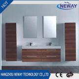 Vanité de salle de bain à double vasque de mélamine de haute qualité