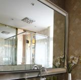 6mm Transparent Laminated Mirror per Bathroom
