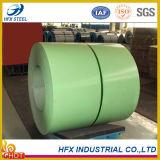 Material de PPGI/Building da bobina de aço galvanizada para a folha da telhadura da cor