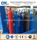 Cilindro de gas de alta presión del acero inconsútil de Hydrogeen CNG 150bar/200bar del CO2 del acetileno del lar CNG del nitrógeno del oxígeno