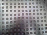 Feuille de métal perforée antidérapante à chaud