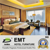 Modernes chinesische Art-hölzernes Hotel-Schlafzimmer-Set (EMT-A1205)