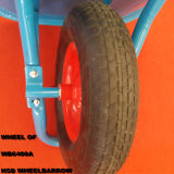 Populäres Selling Wheelbarrow Hsd-5 mit Strong Circling Yard Wheel Barrow