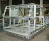 Gabinete de indicador de alumínio do perfil da extrusão para o equipamento