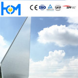 Glace plate claire durcie d'arc de panneau solaire pour le module de pile solaire