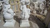 Het de natuurlijke Gravure & Beeldhouwwerk van de Steen van het Graniet voor het OpenluchtOrnament van de Tuin