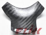 Motocicleta Carbon Fiber Parte Rear Tank Pad (D09829) para Ducati 1098