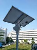 Tous dans les réverbères un solaires avec la batterie au lithium LiFePO4
