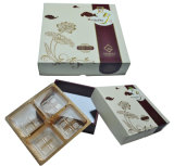 Wooden Handle를 가진 도매 OEM High Quality Special Shape Mooncake Packaging Box