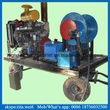 200bar Reinigingsmachine van de Straal van het Water van de Dieselmotor van de Hoge druk van de Machine van het afvoerkanaal de Schoonmakende