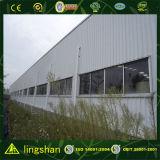 Edificio prefabricado de la estructura de acero de la luz del bajo costo con la oficina
