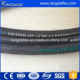 mangueira de borracha hidráulica do reforço da espiral do fio 4sp/4sh de aço