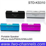 USB SD mini portátil de altavoces (M-003)