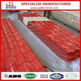 Гофрированный цветом гальванизированный Gi лист крыши стальной