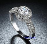 Heet verkoop de Ringen van het Messing van het Zirkoon van Juwelen (R0823)