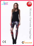 Forma e cuecas Pantyhose Pants Festival Day de Sexy Printing Cartoon Leggings (RS3017)