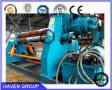 Машина завальцовки плиты CNC гидровлическая, гидровлическая гибочная машина W11H-4X2500 ролика