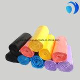 Impression faite sur commande en plastique de rebut de sacs plats de HDPE