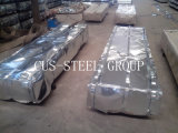 Feuille de toit en métal de Zinc60 Galv/tôles d'acier ondulées galvanisées