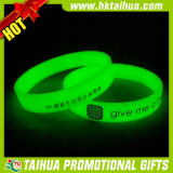 The Dark Silicone Bracelet (Thband098)のカスタムGreen Dark