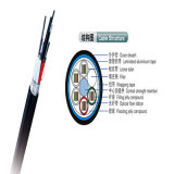 24 Kern-aus optischen Fasernfarbband-Kabel für Zugriffs-Netz von China