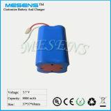 18650 Lithium-Batterie-Satz 3.7V 9ah