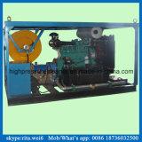 nettoyeur à haute pression de jet d'eau de moteur diesel de machine de nettoyage du drain 200bar