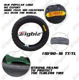 Size 110/90-16の最上質のSuper Cheap Motorcycle Tire