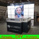 Personnalisé Cosmétiques portables modulaires Stands Salon Exposition Affichage Booth