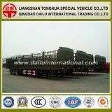 大きいバルク貨物のための棒が付いているよい販売の高い側面の半トレーラー