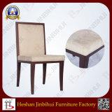 Chaise en aluminium de banquet de vente d'effets en bois chauds de grain (BH-FM3040)