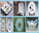 Horno de la lanzadera para los platos de cristal