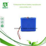 Paquete protegido de la batería del Li-ion 18650 de 6400mAh 8.4V para la luz de la bici