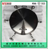 China-Seite-Schwingen runder Einsteigeloch-Deckel mit Rückseite und Öffnung