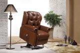 가죽 소파 전기 Recliner 의자 (582)