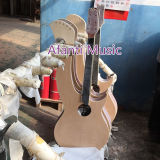 Guitare Acoustic Electric Double Neck Harp (AHP-01)