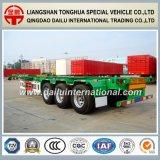 De 3-assen van Ctsm 40FT Semi Aanhangwagen van het Skelet van de Container de Groene op Bevordering