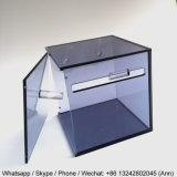 Casella acrilica variopinta moderna del fazzoletto per il trucco della stanza da bagno