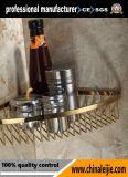 Корзина мыла отделки золота вспомогательного оборудования ванной комнаты нержавеющей стали