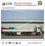 Tri-Alxe 10.5m Zijwand/Semi Aanhangwagen van het Vervoer van de Lading stortgoed van de Daling de Zij