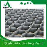 het Verbinden van de Rand van pvc van de Hoogte van 80mm Lopende band Geocell die voor Gerecycleerde Plastic Betonmolens wordt gebruikt