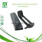 48V 6.6ah Lithium-Batterie-Satz mit Aufladeeinheit 2A für elektrisches Fahrrad