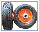 환경 보호 유모차를 위한 6 인치 압축 공기를 넣은 고무 바퀴