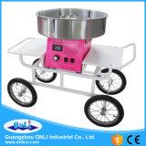 Carro/vagão comerciais da máquina de Floss dos doces de algodão de Digitas