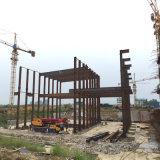 Atelier préfabriqué d'entrepôt de construction de structure métallique