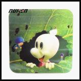 カスタマイズされたPlastic 3D LenticularエヴァCup Coaster