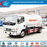3cbm 5cbm 4X2 Dongfeng vacío de chorro de aguas residuales de camiones