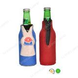 ジッパーの閉鎖のネオプレンはキャンプのためのビール瓶のホールダーのクーラーを絶縁する